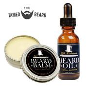 Best Sandalwood Beard Oil & Balm Conditioner Set for Men - 30ml