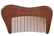 Beaver Scooter 702 Sandalwood Moustache and Beard Comb