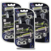 Dorco Pace 6 Plus - Six Blade Disposable Razors with Trimmer - Value Pack