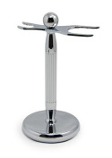 West Coast Shaving Stand 309, Lined Chrome