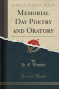 Memorial Day Poetry and Oratory