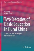 Two Decades of Compulsory Education in Rural China