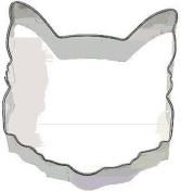 Cat Face Cookie Cutter 8.9cm Kitty Baking Sugar Fondant Fur
