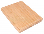 BirdRock Home Bamboo Wood Cutting Board Chopping Block with Juice Groove | 15.75 x 11.9 | Wooden| Kitchen and Cutlery Accessories | Cut Vegetables, Meat, etc. | Durable