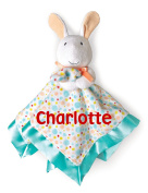 Personalised Pat The Bunny Snuggle Blanky Blanket - 43cm