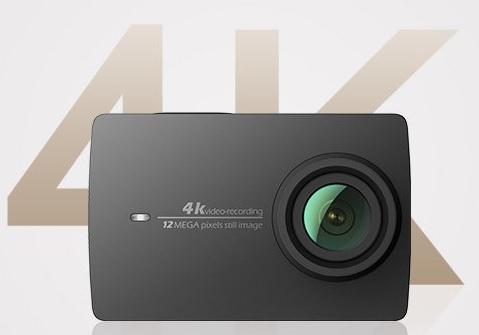 Xiaomi Yi 4K Sports Action Camera 2 Ambarella A9 Sony IMX377