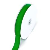 Creative Ideas 2.2cm Solid Grosgrain Ribbon, 50-Yard, Emerald Green