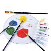 PROFESSIONAL ARTIST PAINT BRUSH SETS - Wide Variety 15 Piece Paintbrush Kits For Acrylic, Oil, Watercolour and Face Painting - Canvas Quality Art Supplies Kit for Artists & Kids - MONEY BACK GUARANTEE