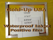 Waterproof Inkjet Transparency Film for Silk Screen 33cm x 48cm - 1 Pack