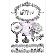 Prima Marketing Bella Rouge Cling Rubber Stamps, 10cm x 15cm