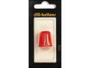 Dill Thimbles Jelly Fingers 18mm Carded 1pc Red