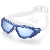 Naga Sports Diver Swimming Goggles - Anti Fog Anti Shatter Leakproof Waterproof with UV Protection for Men Women Youths Adults - Choose Your Colour