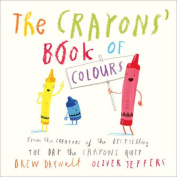 The Crayons' Book of Colours [Board book]