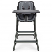 4moms, High Chair, Black, Grey