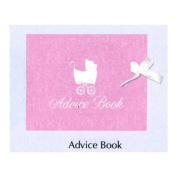 Baby Love Pink Girl Keepsake Registry & Advice Book Baby Shower