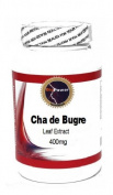 Cha de Bugre Leaf Extract 400mg 90 Capsules # BioPower Nutrition