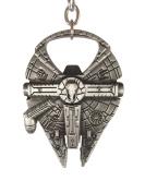 Millennium Falcon Bottle Opener - Fully Functional Metal Star Wars Millenium Keychain Bottle Opener - Detailed Heavy Die Cast Construction