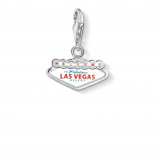 Thomas Sabo Las Vegas Sign Charm, Sterling Silver
