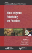 Micro Irrigation Scheduling and Practices