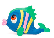 Natural Rubber Bath Teething Toy RAINBOW the Fish