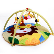 MLSH Charming 3-in-1 Musical Activity Kick and Play Piano Gym , jungle lion