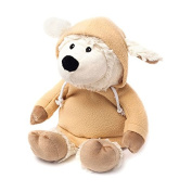 Warmies Cosy Plush Hoody Limited Edition Cream Sheep Microwaveable Soft Toy
