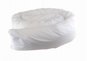 Cuddles Collection 3.7m Body and Support Pillow White