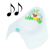 Easy Clean Toilet Potty Training Baby Kids Toddler Fun Colourful Animal Duck