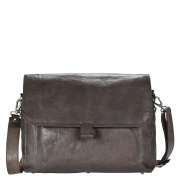 Harold's Dean Messenger Leather 38 cm Notebook compartment braun
