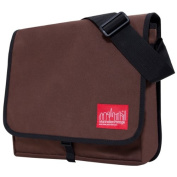 Manhattan Portage Unisex-Adult DJ MD Messenger Bag 1428 Dark Brown