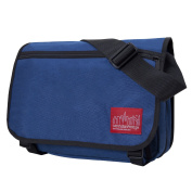 Navy Europa Zipped Messenger Bag by Manhattan Portage