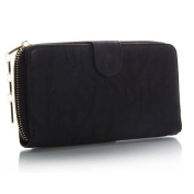 Womens New Ladies Faux Leather Designer Zip Long Coin Purse Womens Wallet Card Holder
