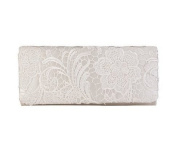 Eleoption Women's Clutch WHITE