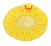 Kids Cartoon Shower Hat Lovely Spa Bathing Caps-Yellow Duck