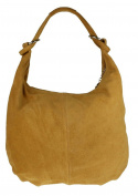 Girly HandBags Hobo Italian Suede Leather Shoulder Bag