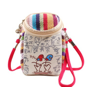 YouPue Womens Ethnic Embroidered Bags Crossbody Shoulder Bag