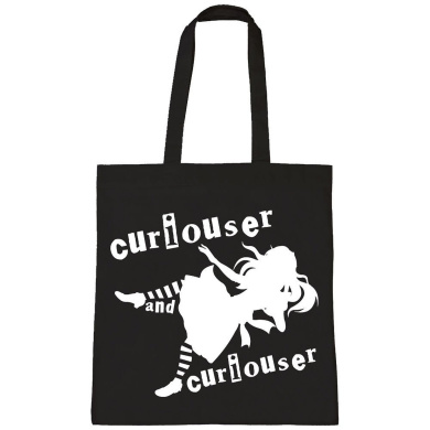 Batch1 Alice Through The Looking Glass Curiouser And Curiouser Tote Bag Shopper
