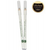 PHB Organic Natural Eyeliner Pencil - Black, Vegan, Great for Sensitive Eyes
