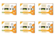 (6 PACK) - Andalou Get Started Brightening Kit | 5 Piece Pieces | 6 PACK - SUPER SAVER - SAVE MONEY