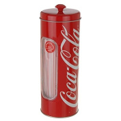 Coca Cola Straw Storage Tin