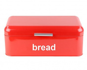 Retro Style Steel Bread Bin Kitchen Food Loaf Storage In 3 colours