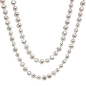 Cultured Freshwater Necklace with Pearls