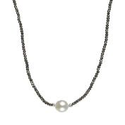 925 Sterling Silver Necklace with South Sea Pearls