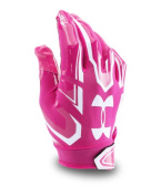 Under Armour F5 Football Gloves - Tropic Pink 654