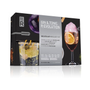 Gin & Tonic R-EVOLUTION Molecular Gastronomy Kit Mixology Set By Molecule-R