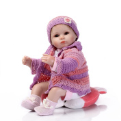 41cm Reborn Baby Doll Handmade Sweaters Realistic Newborn Doll Baby Toys