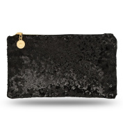 Lady Donovan - Clutch - Noble evening bag for ladies and girls - Wallet with zipper - ideal for a party or wedding - glittering