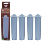 Aqua Crest AQK03 Compatible Jura Claris Blue Water Filter Cartridge for Jura Coffee Machines - Available in a range of pack sizes..