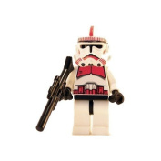 Clone Trooper (Red) - LEGO Star Wars Figure by LEGO [Toy]
