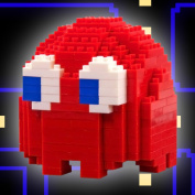 Pac-Man Ghost Pixel Bricks